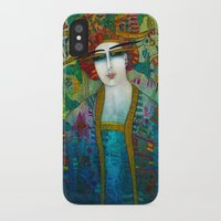 aquarius iPhone & iPod Cases featuring AQUARIUS by ALBENA