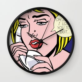 OH, JEFF... 1964 Wall Clock