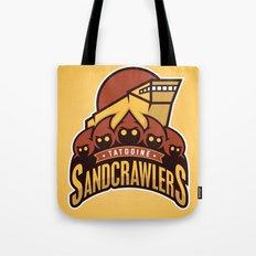 Tatooine SandCrawlers - Gold Tote Bag