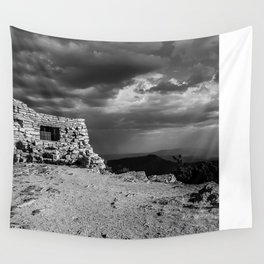 Kiwanis Club House at Sandia Mountains in New Mexico  Wall Tapestry