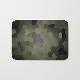Camo Glass Bath Mat