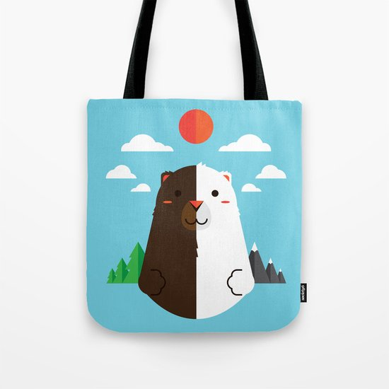 Grizzly & Polar Tote Bag