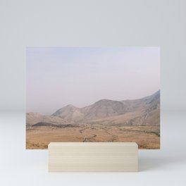 topaz, california Mini Art Print