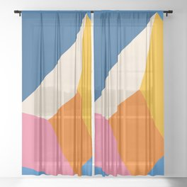 Cubed  Sheer Curtain