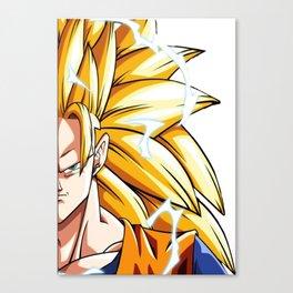 Goku SSj3 Canvas Print