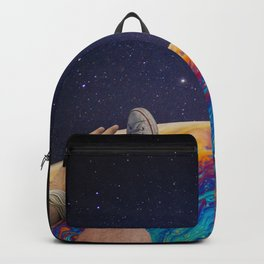 hanging out in space Backpack