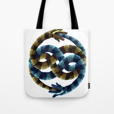 The Never Ending Sand Worm Tote Bag