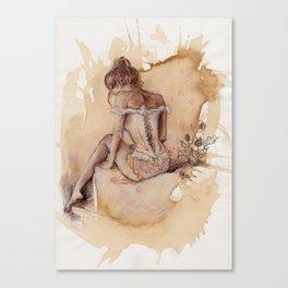'Decolletage' Canvas Print