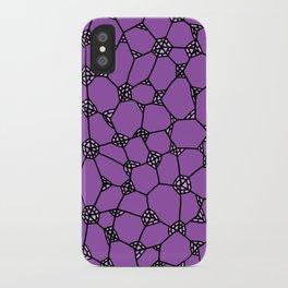 Yzor pattern 006-3 kitai lilac iPhone Case
