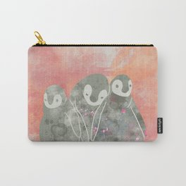 Layla Penguins Carry-All Pouch