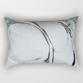Abstract ice texture 9 Rectangular Pillow