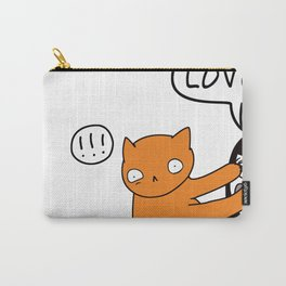 Cue Love Me Cat Carry-All Pouch