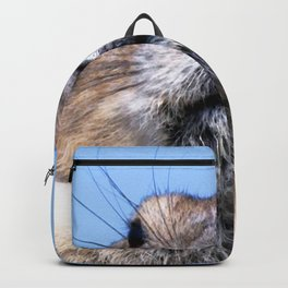 Watercolor Pika 01, Is There a Lightening Storm Nearby? Backpack