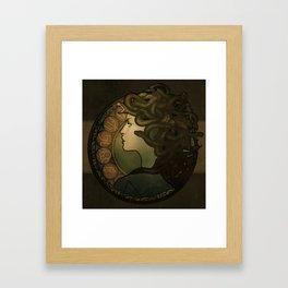 Medusa Nouveau Framed Art Print