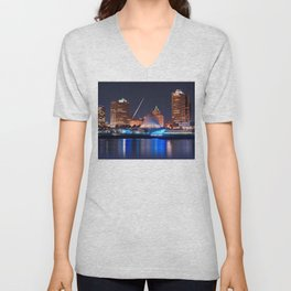 Milwaukee Art Museum Unisex V-Neck