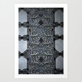 Travel: Morocco Stone Art Print