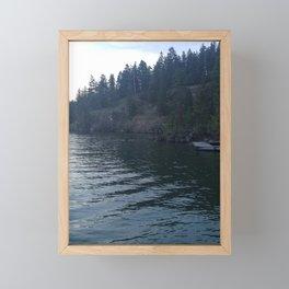 Lakeshore Lover Framed Mini Art Print