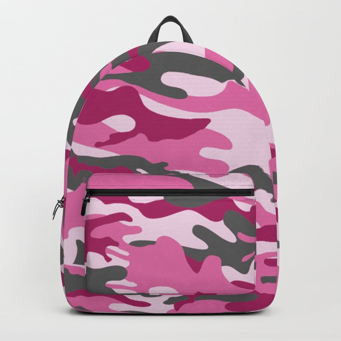 Pink Camo Backpack by thed3dshack | Society6