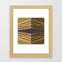 looking through Framed Art Print