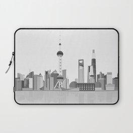 Shanghai (Black & White) Laptop Sleeve