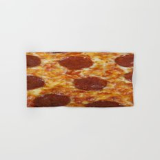 Pepperoni Pizza Hand & Bath Towel