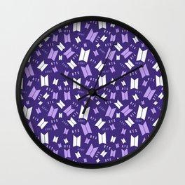 BTS Army Logo Wall Clock