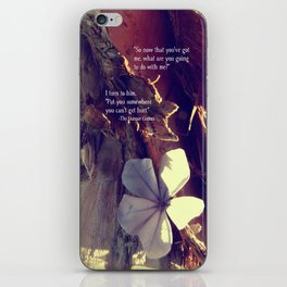 Somewhere You Can't Get Hurt... iPhone Skin