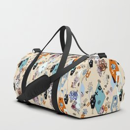 Children S School Collage Duffle Bag