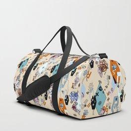 Children's , school . Collage. Duffle Bag
