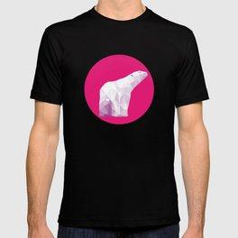 Magenta Polar Bear T-shirt