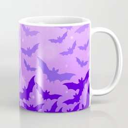 Bats set off into the night Coffee Mug