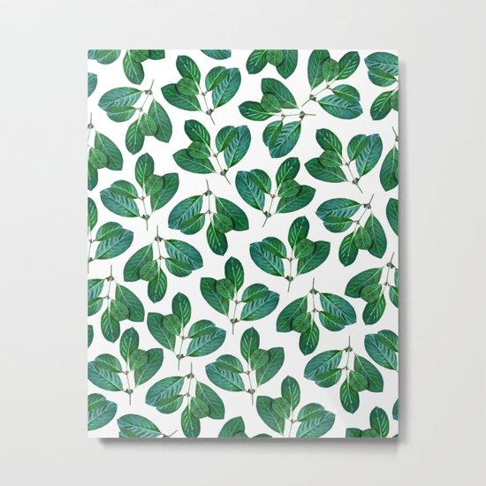 Lemon Leaf #society6 #decor #buyart Metal Print