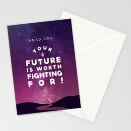 Your Future Is Worth Fighting For! Stationery Cards