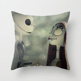 Take My Hand (Nightmare Before Christmas) Throw Pillow