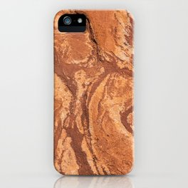 Red Rock Corral Texture from Colorado iPhone Case