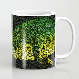 Dolphin Fish Art by Sharon Cummings Coffee Mug