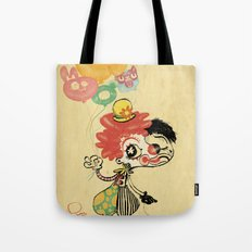 The Clown / Balloons / Facade Tote Bag