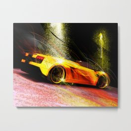 Dream Car Collection #3 Metal Print