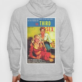 Lesbian Sex Exploitation Vintage Cover Hoody