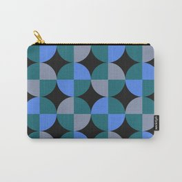 NeonBlu Squares Carry-All Pouch