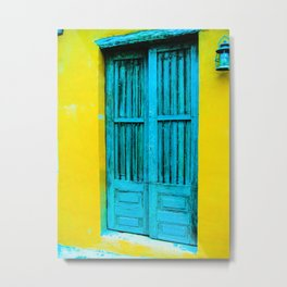 Door 6 Metal Print