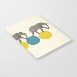 Travelling Elephants Notebook