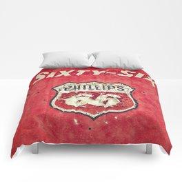 Vintage Gas Pump Comforters