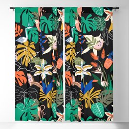 PARADISIACAL NIGHTLIFE Blackout Curtain