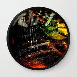Reverb and Delay Wall Clock