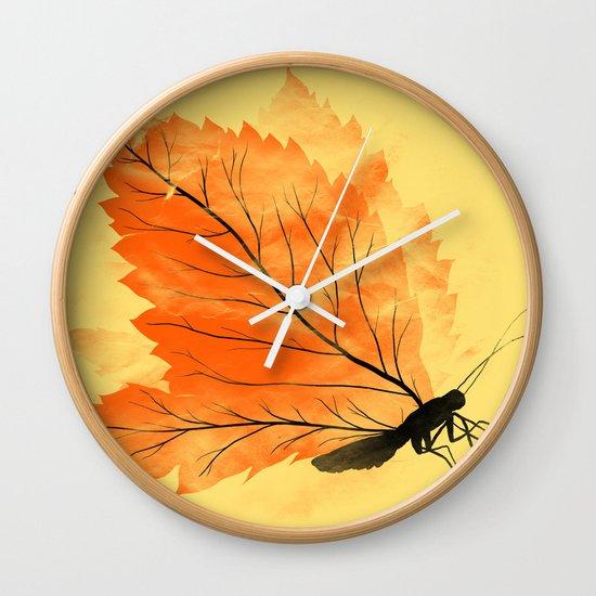 Seasons Change Wall Clock