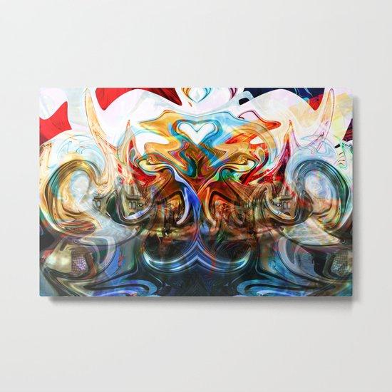 liquified space Metal Print