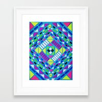 native Framed Art Prints featuring Native by Erin Jordan