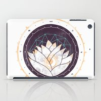 lotus iPad Cases featuring Lotus by Hector Mansilla
