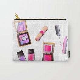 Hot Pink Makeup Carry-All Pouch